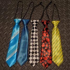 Boy Ties 5 pack